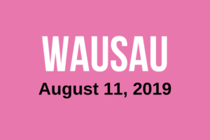 Wausau More Than Pink Walk Button